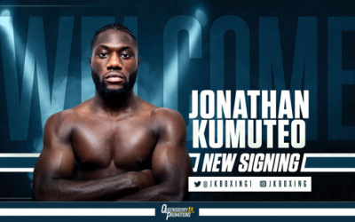 Jonathan Kumuteo - still waiting to make his professional debut