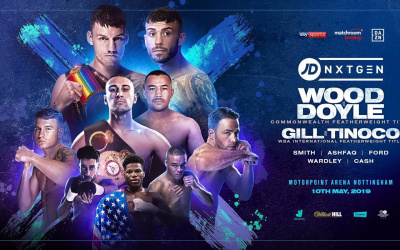 Leigh Wood vs Ryan Doyle results Jordan Gill vs Enrique Tinoco