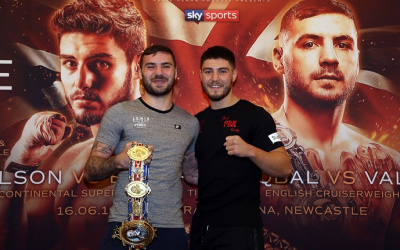 Josh Kelly and Lewis Ritson