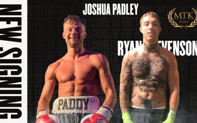 Unbeaten Doncaster duo Ryan Stevenson and Josh Padley join MTK Global je promotions joe elfidh boxing connected boxrec highlights watch ko reel youtube