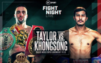 Josh Taylor and Apinun Khongsong both reveal the same gameplan to go for the knockout predictions who wins press conference quotes frank warren saturday what time start bt sport