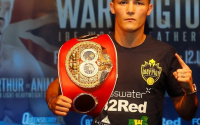 Josh Warrington must wait for world title unification clash against Can Xu