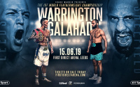 Josh Warrington vs Kid Galahad undercard