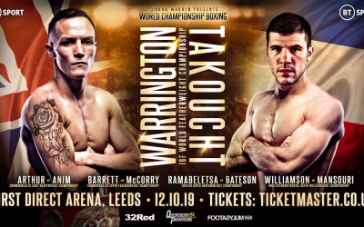 Josh Warrington vs Sofiane Takoucht