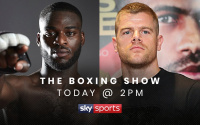 Joshua Buatsi and Callum Johnson will speak to each other for the very first time on 'The Boxing Show'