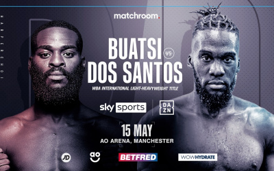 Joshua Buatsi faces unbeaten Daniel Blenda Dos Santos in first fight under Virgil Hunter boxrec oddschecker who wins predictions may 15 manchester matchroom sky sports