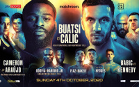 Joshua Buatsi vs Marko Calic fight preview and prediction who wins oddschecker betting odds best bets tips Chantelle Cameron Adriana Dos Santos Araujo Linus Udofia John Harding Jr Alen Babic Niall Kennedy and Aqib Fiaz Kane Baker John Hedges