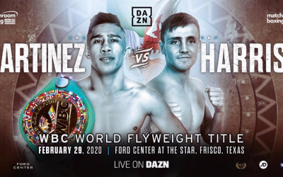 Julio Cesar Martinez vs Jay Harris WBC