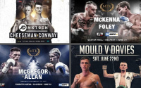 Where to watch British boxing this weekend – televised shows on June 21 & 22