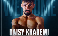 Frank Warren signs WBO European super flyweight champion Kaisy Khademi queensberry promotions