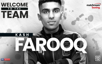 Kash Farooq signs with Matchroom