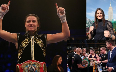 Irish star Katie Taylor continues to create history