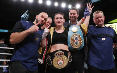 Katie Taylor believes a win over Amanda Serrano will make her No.1 in the world