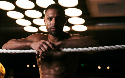 Kell Brook vs Mark DeLuca world title two-time world champion welterweight