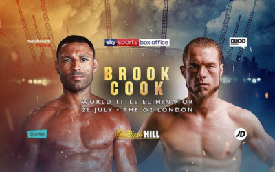 Kell Brook vs Brandon Cook