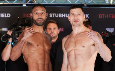 Weights and running order for Kell Brook vs Mark DeLuca