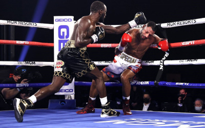 End Game - SavageTerence Crawford KOs Kell Brook in 4 four round result report who won watch highlights full analysis las vegas america bob arum trainer retiring now
