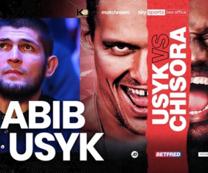UFC star Khabib Nurmagomedov wiki facts things you didn't know about amateur boxers mma usyk russia highlights ko reel