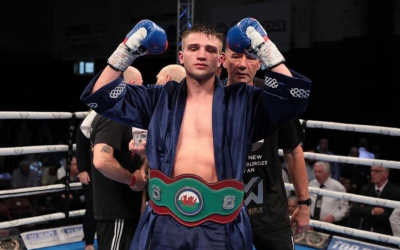 Injured Kieran Gething out for 2020 elbow arm right left boxer amateur career pro record next fight mtk golden contract