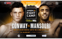 Kieron Conway will put friendship aside when he takes on former sparring partner Navid Mansouri