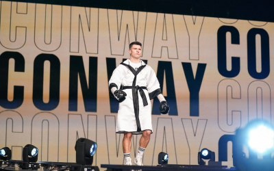 Kieron Conway oddschecker has gone from small hall shows in Northampton to fighting in front of 70,000 fans in America Souleymane Cissokho canelo saunders predictions boxrec ted cheeseman fight
