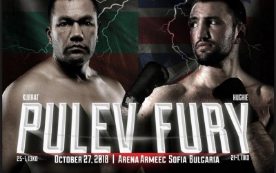 Kubrat Pulev vs Hughie Fury fight time, date, TV channel, undercard, schedule, venue and live stream details