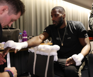 Lawrence Okolie confident of stopping Krzysztof Glowacki and is looking forward to watching the highlights back