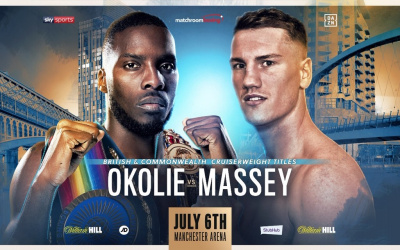 Lawrence Okolie vs Jack Massey fight time, date, TV channel, undercard, schedule, venue, betting odds and live stream details