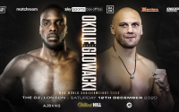 Lawrence Okolie challenges Krzysztof Glowacki for the vacant WBO Cruiserweight World Title ringwalks fight time date tv schedule venue fight live stream details preview