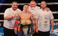 Lee McGregor earns incredible first round knockout to win European title - MTK Fight Night results and reaction karim guerfi maxi hughes british title report who won youtube paul hyland jnr