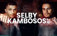 George Kambosos vs. Lee Selby IBF Lightweight Eliminator fight time date tv schedule ringwalks undercard where venue matchroom purse bids