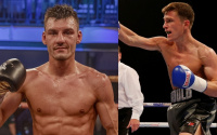 Predictions for Reece Mould vs Leigh Wood preview tale of the tape analysis who wins fight ringwalks betting odds oddschecker best bets british featherweight title lonsdale belt boxrec career record