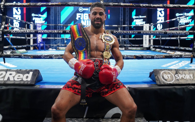 Lennox Clarke stuns Willy Hutchinson to become British and Commonwealth super-middleweight champion watch youtube full report highlights results boxrec fifth round stoppage tko ko frank warren bt sport