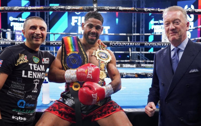 Lennox Clarke praises teammate Zach Parker, takes a dig at rival Nathan Heaney frank warren BCB Promotions boxrec reveals next fight date