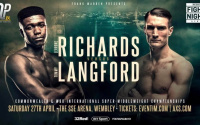 Lerrone Richards vs Tommy Langford fight time, date, TV channel, undercard, schedule, venue, betting odds and live stream details