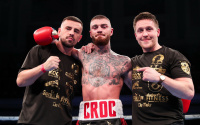 Lewis Crocker knows Deniz Ilbay will be his toughest test to date #mtkfightnight mtk fight night march 12 2021 boxrec oddschecker betting odds WBO European welterweight title vs live stream links watch