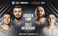 Lewis Crocker vs Deniz Ilbay WBO European title fights #MTKFightNight deniz ilbay Viktor Kotochigov next fights isaac lowe Sahir Iqbal Jordan Reynolds march 12 how to watch espn channel ifl tv Top Rank