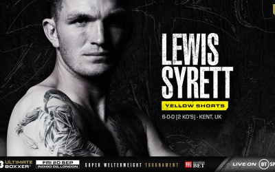 Get to know… Lewis 'The Lionheart' Syrett