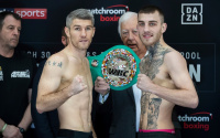 Liam Smith vs Sam Eggington weights and running order