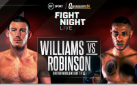 Liam Williams vs Andrew Robinson fight details - time, date, TV channel, undercard, schedule, venue, betting odds, ring walks and live stream info oddschecker cacace woodstock jj metcalf jack flatley who wins preview predictions