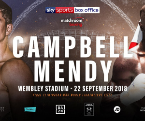 Luke Campbell vs Yvan Mendy