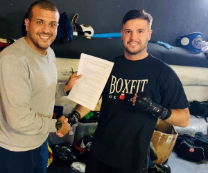 Former Team GB boxer Luke Gibb signs new three-year deal JE Promotions Joe Elfidh