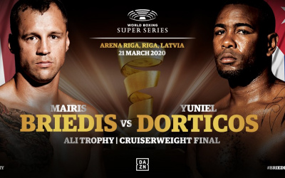 WBSS Cruiserweight final to be shown LIVE on Sky Sports in the UK Mairis Briedis vs Yuniel Dorticos