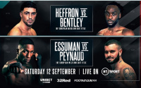 Predictions for Mark Heffron vs Denzel Bentley who wins and why how preview highlights insight background betting odds is favourite oddschecker frank warren