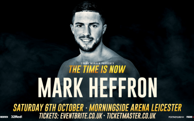 Jason Welborn vs Mark Heffron
