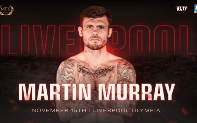 Martin Murray joins Rocky Fielding in Liverpool on November 15