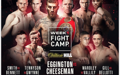 Matchroom Boxing Fight Camp Week 1 preview featuring Sam Eggington vs Ted Cheeseman