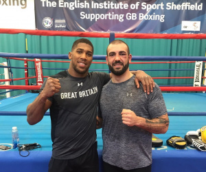 Anthony Joshua sparring partner