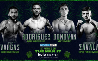 Michael Conlan vs Belmar Preciado Top Prospects Josue Vargas, Julian Rodriguez, Paddy Donovan and Christopher Zavala added to Michael Conlan's St. Patrick's Day Garden Party