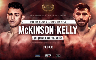 Michael McKinson vs Ryan Kelly
